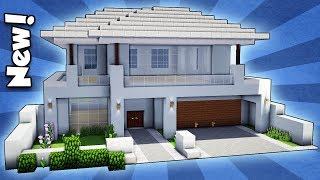 Minecraft: How To Build A Modern House - Easy Tutorial