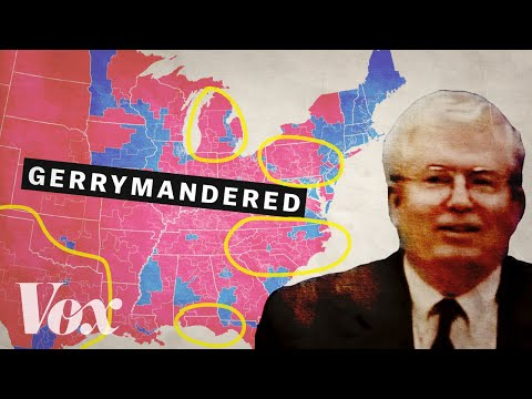 The man who rigged America's election maps