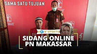 Cegah Penyebaran Covid-19, Pengadilan Negeri Makassar Gelar Persidangan secara Online
