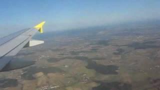 preview picture of video 'Anflug und Landung am Flughafen München'