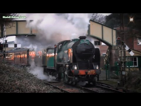 The Cathedrals Express visits the Mid-Hants Railway 2nd Dece…