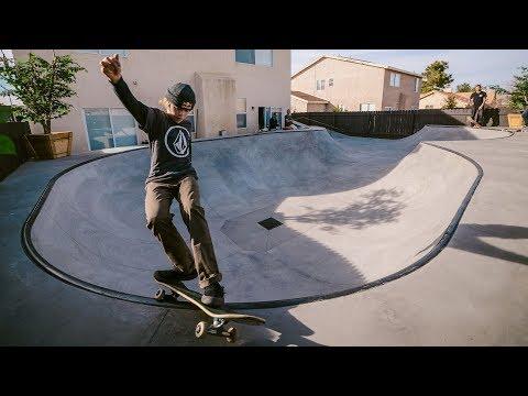 CJ Collins' New Backyard