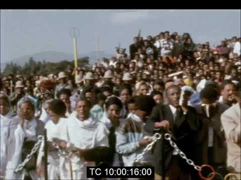 Ethiopians remember Abebe Bilika 1974