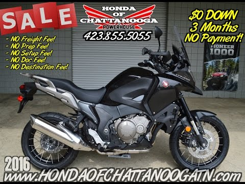 2016 Honda VFR1200X in Chattanooga, Tennessee - Video 1