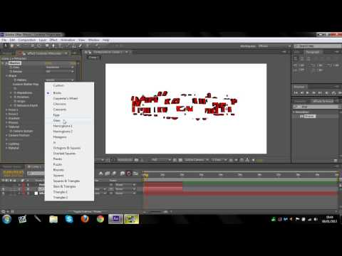 Reverse Shatter Effect – After Effects Tutorial