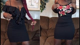 Slim Thick Dress Try-On Haul | Charlotte Russe