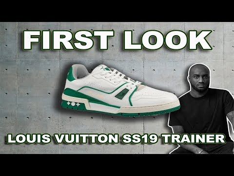 First Look | Louis Vuitton Spring/Summer 2019 Low Trainer Sneaker