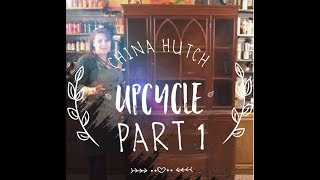 China Cabinet Upcycle! Episode 1: Screwy McScrewerso
