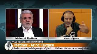 Mehmet Metiner'den Bülent Arınç'ın Oğluna: Yalan Söylemek Babasından Miras Olabilir