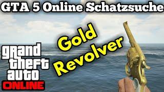 GTA 5 Online | Schatzsuche | Goldenen Revolver | Double Action Revolver Bekommen !!!
