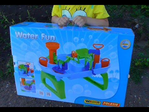 WATER FUN/Игрушка для игр с водой/игрушки ПОЛЕСЬЕ
