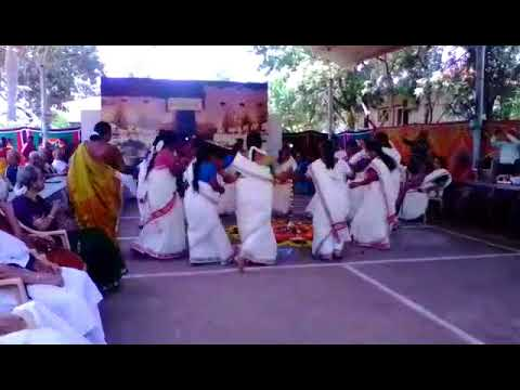 Onam Celebration Dance at Covai S3