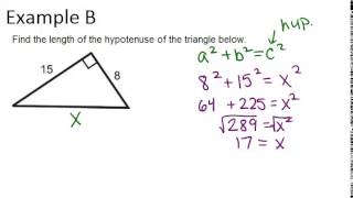 The Pythagorean Theorem And Pythagorean Triples: Examples (Geometry Concepts)