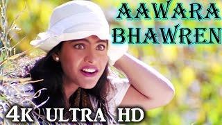 A R Rahman Hit Song - Aawara Bhawren Jo Hole Hole Gaaye, Kajol, Sapnay Song - 4K Ultra HD Video