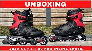 UNBOXING  [ 2020 K2 F.I.T.80 PRO INLINE SKATE ]