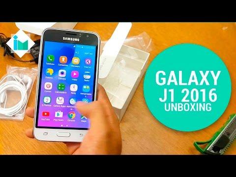 Samsung Galaxy J1 2016 - Unboxing en español