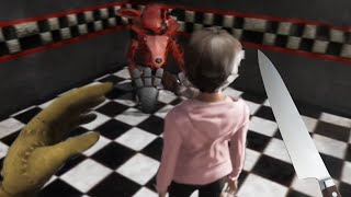 PLAYING As GLITCHTRAP Stuffing A CHILD Into WITHERED FOXY... | FNAF The Killer In Purple