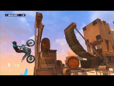 Trials Rising Barren ( Ninja Lvl 7 ) By Slikscythez