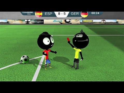Stickman Soccer 2018 Android Gameplay #2