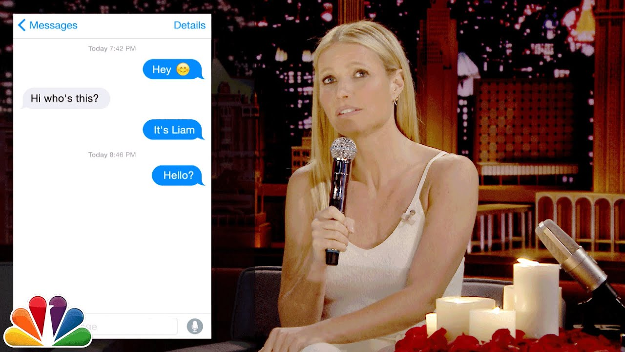 First Textual Experience with Gwyneth Paltrow thumbnail