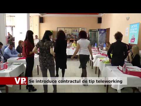 Se introduce contractul de tip teleworking