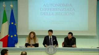 Conferenza stampa del Consiglio dei Ministri n. 33