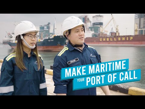 Make Maritime Your Port of Call - #SGUnited Trainees