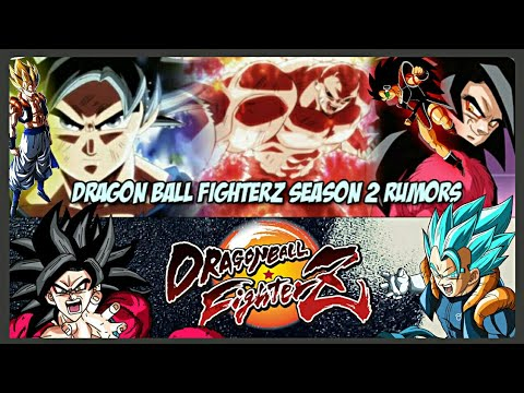 New Leaks! Dragon Ball FighterZ Season 2 DLC Characters