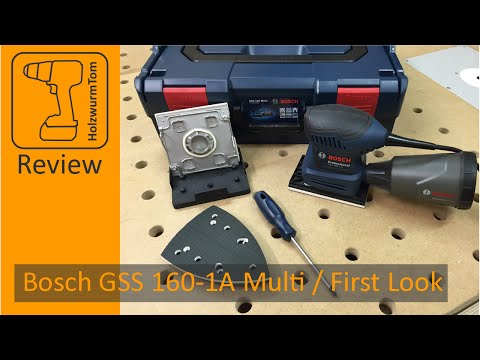 Bosch GSS 160-1A Multi / First Look