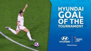 Lucy BRONZE – HYUNDAI GOAL OF THE TOURNAMENT – NOMINEE