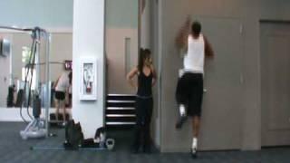 Explosive One Leg Jumps | NBA Vertical Jump Training Air Alert 3 LeBron | Dre Baldwin