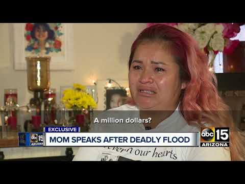 Mom speaks out after deadly flood