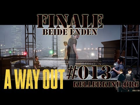A Way Out #13 – Das große Finale [Leo+Vincent Ende] ★ Let's Play Together A Way Out [HD|60FPS|Co-Op]