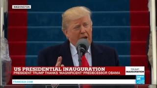"US President Donald Trump: ""it"