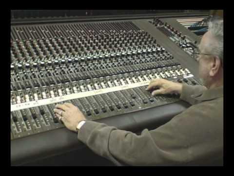 Mixing Board at Gene Breeden Studios