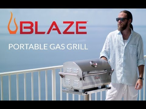 Blaze Pro Portable Gas Grill Overview | BBQGuys.com
