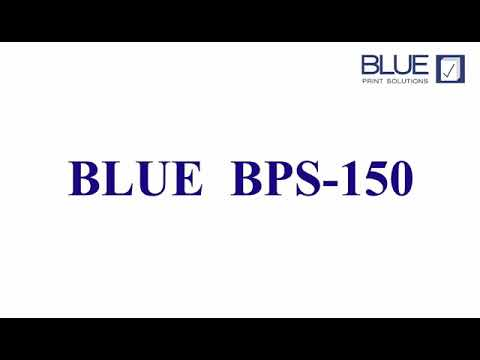 BPS 150 Blue Digital Duplicator