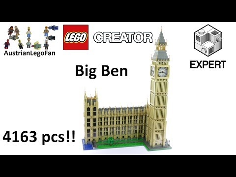 Vidéo LEGO Creator 10253 : Big Ben