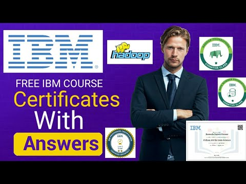 Hadoop IBM course with answers|IBM cognitive free ... - YouTube