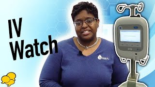 View the video ivWatch monitors for IV Infiltration