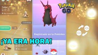 Whirlipede  - (Pokémon) - YA TOCABA! DOBLE INTERCAMBIO CON SUERTE, NUEVOS REGISTROS de 5 GEN y LA MALDICIÓN SIGUE - POKEMON GO