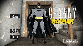 Granny is BATMAN!