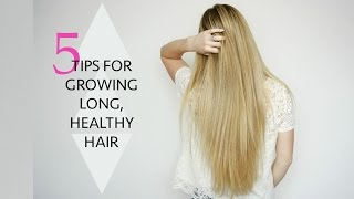 Ad | 5 Tips For Growing Long Hair | Missy Sue