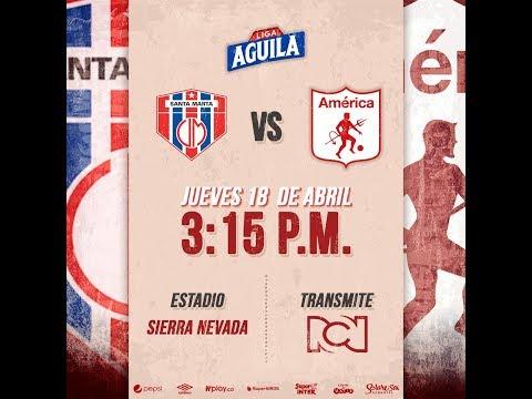 Union Magdalena VS America de Cali. Previa y datos Fecha 16 Liga Águila 2019 I.