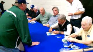 10/21/12 BOBBY SHANTZ SIGNING AUTOGRAPHS JP SPORTS