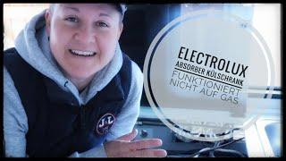 Electrolux Absorber Kühlschrank funktioniert nicht auf Gas