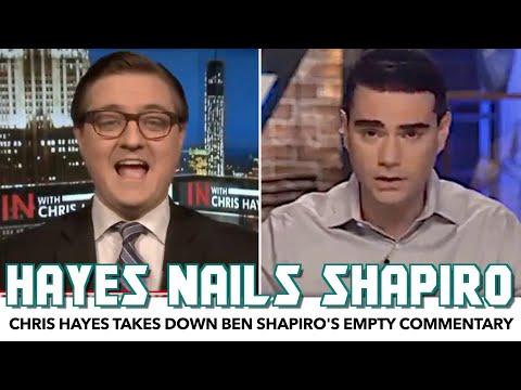 Chris Hayes Dunks On Ben Shapiro