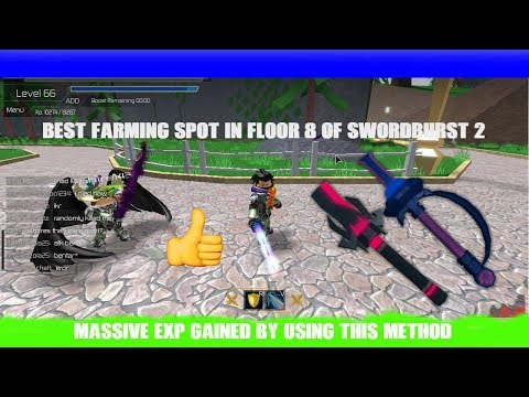 Best Farming Spot On Floor 8 In Swordburst 2
