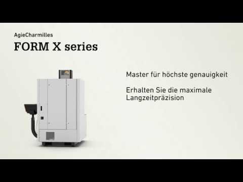 AgieCharmilles Serie FORM X - Senkerosionsmaschinen