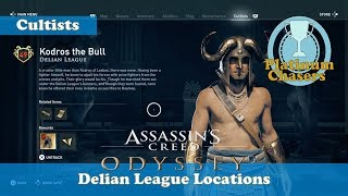 Delian League - Cultist Locations - Assassin's Creed: Odyssey